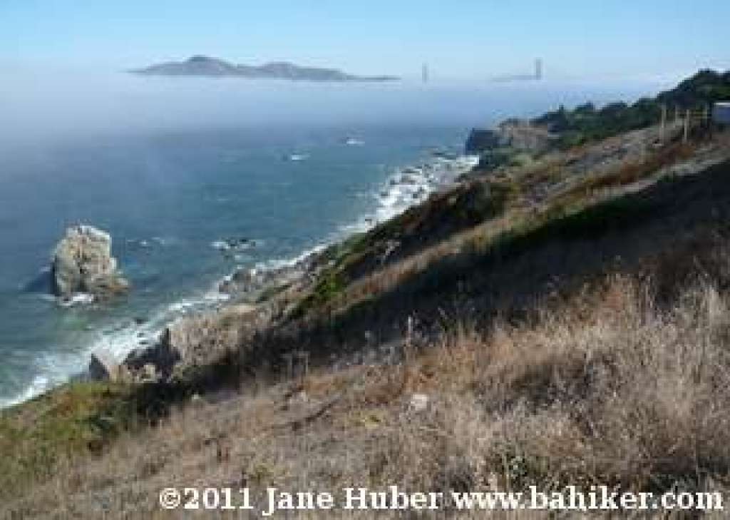 view from Coastal Trail