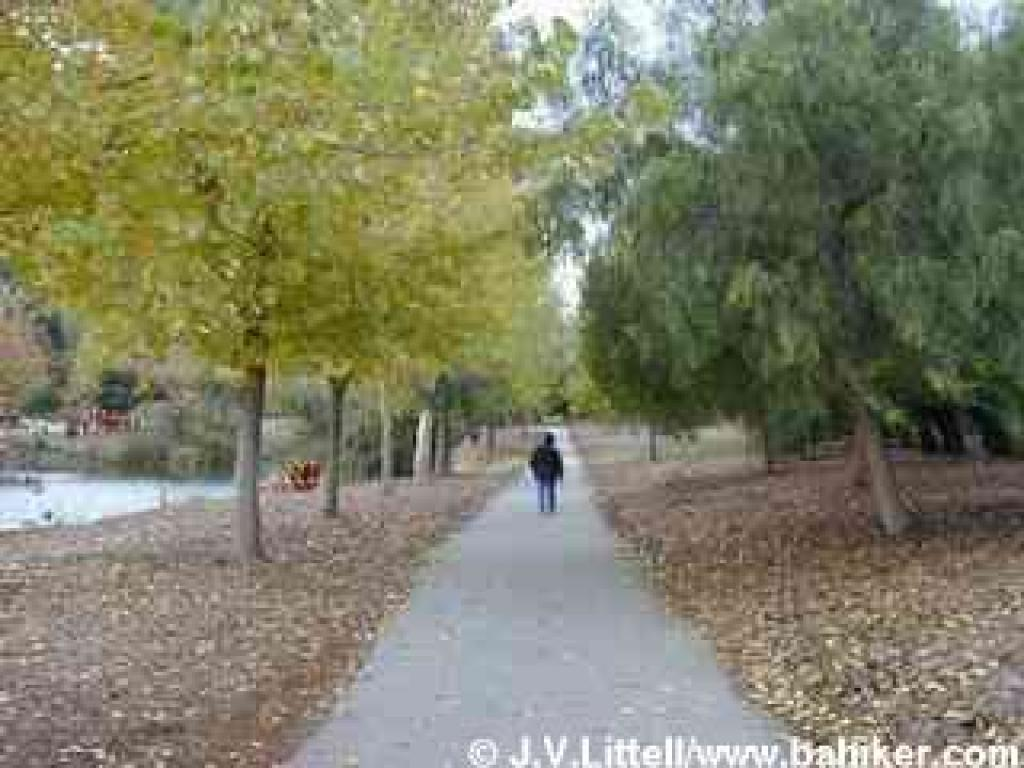 Path at Almaden Lake Park