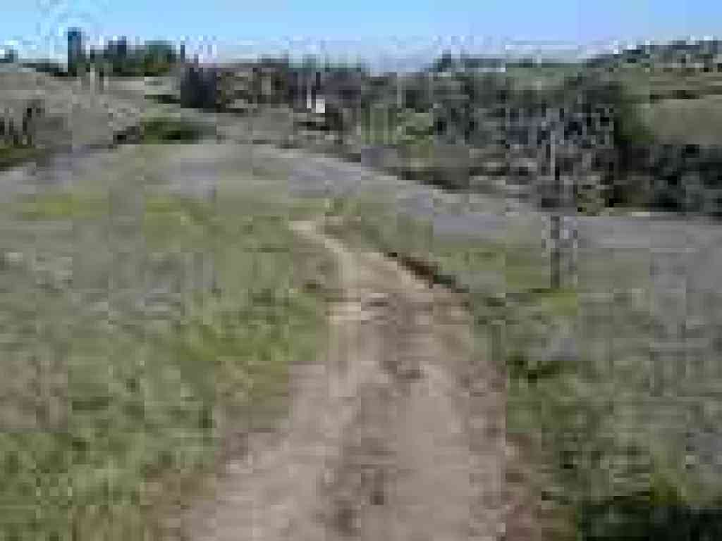 Meadowlark Trail drifts downhill and ends at Corte Madera Trail