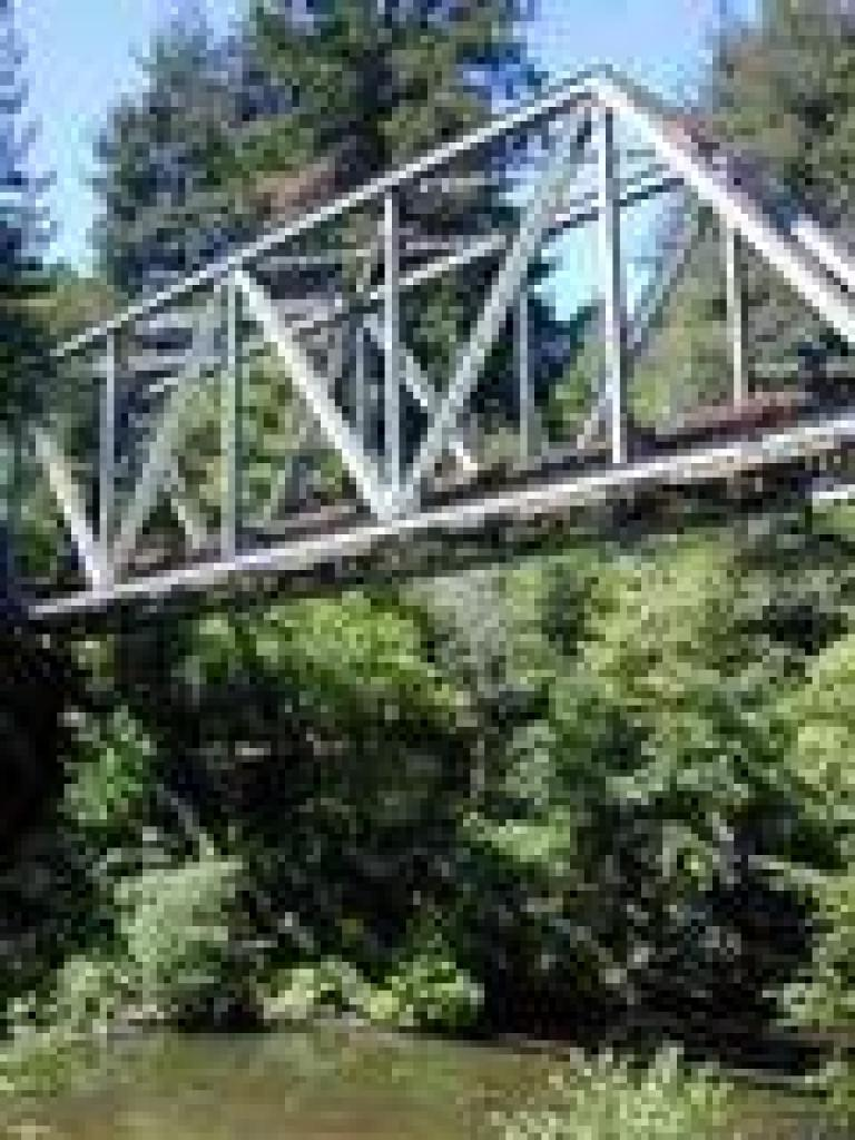 Trestle and San Lorenzo River