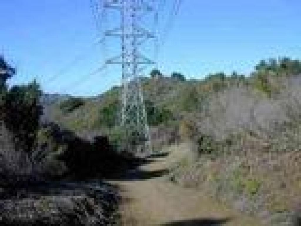 Trail and power tower